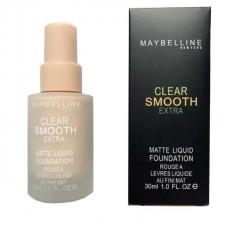 Тональный крем Maybelline Clear Smooth Extra