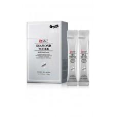 Ночная маска с алмазной пудрой и гиалуроновой кислотой SNP Diamond Water Sleeping Pack