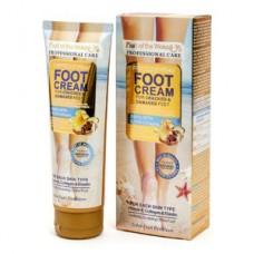 Крем для ног Foot Cream Snail With Q10 & Collagen