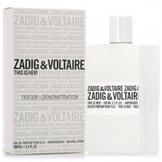 This is her Zadig & Voltaire edp 100 мл Тестер