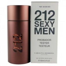 212 Sexy Men Carolina Herrera 100 мл Тестер